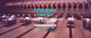 Screen Shot of CTTB Music Podcast Homepage
